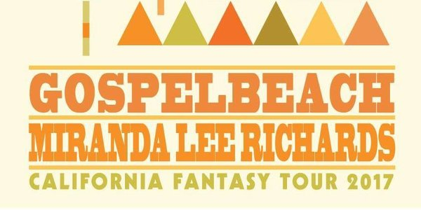 GospelbeacH & Miranda Lee Richards Bring California Fantasy Tour to Europe