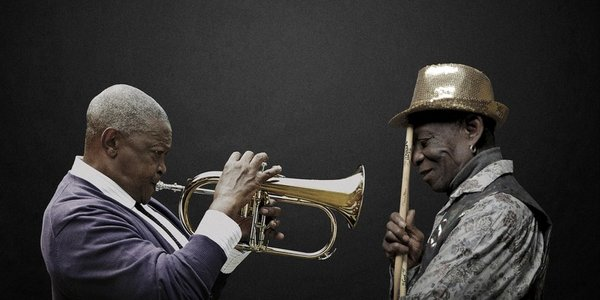 Tony Allen and Hugh Masekela