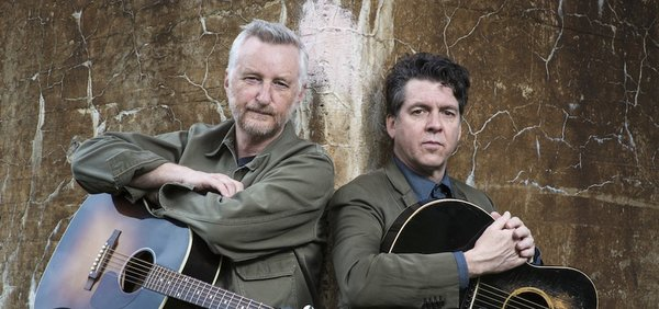 Billy Bragg and Joe Henry @ St George's Church, Brighton 10.11.16