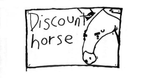 Bearded Label Love: Discount Horse