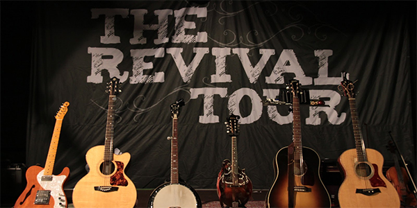 Interview: Chuck Ragen & Emily Baker, on the Revival Tour 2012.